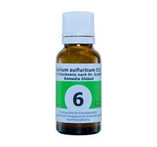 Nr. 6 Kalium Sulfuricum