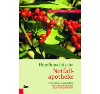 Homöopathische Notfallapotheke von Dr. Walter Glück