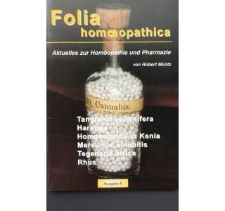 Folia Homöopathica Ausgabe 6