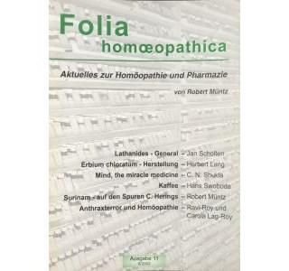 Folia Homöopathica Ausgabe 11