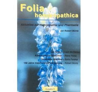 Folia Homöopathica Ausgabe 8