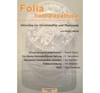 Folia Homöopathica Ausgabe 10