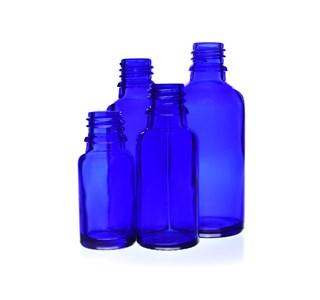 blauglas-arzneiflasche