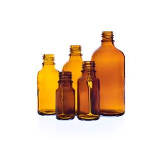 braunglas-arzneiflaschen