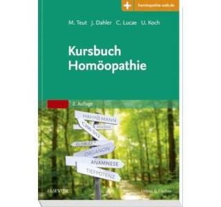 Kursbuch Homoeopathie von Michael-Teut, Joern-Dahler, Christian Lucae und Ulrich Koch Umschlag