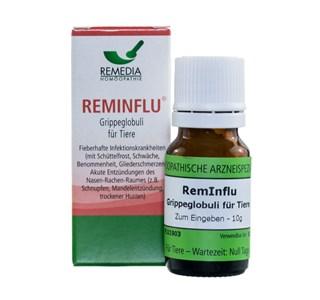 RemInflu Grippeglobuli fuer Haustiere und Nutztiere